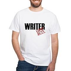 Off Duty Writer Shirt