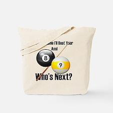 Who's Next Tote Bag