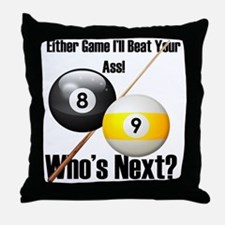 Who's Next Throw Pillow
