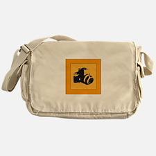 vintage nikon camera Messenger Bag