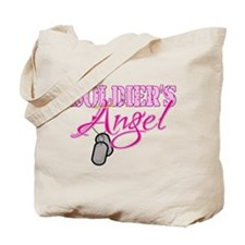 Soldier's Angel Tote Bag