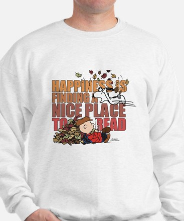 Peanuts Fall Reading Sweatshirt