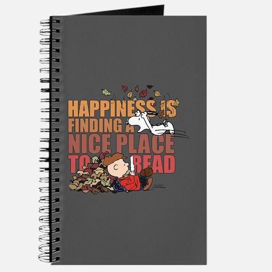 Peanuts Fall Reading Journal