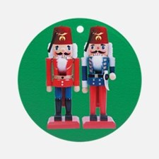 The Happy Shriners Nutcrackers Ornament (Round)