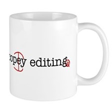 I'd rather be copy-editing. Coffee Mug