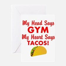 I Love Tacos Greeting Cards