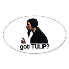 got TULIP? Oval Decal