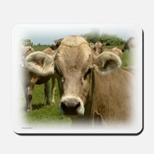 Cow Here's Lookin' At You Mousepad