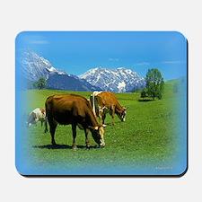 Cattle Grazing Mousepad