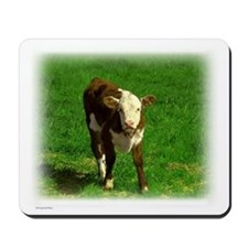 Hereford Calf Mousepad