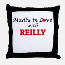 Madly in love with Reilly Throw Pillow