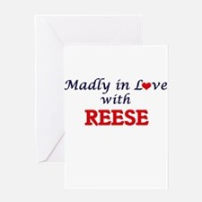 Madly in love with Reese Greeting Cards