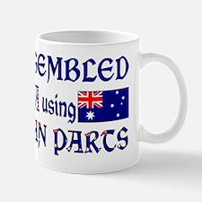 USA/Australian Parts Mug