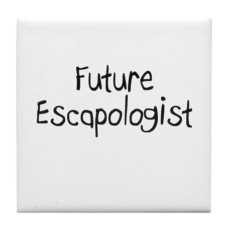 Future Escapologist Tile Coaster