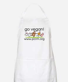Go Vegan! Dancing Animals BBQ Apron