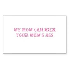 My Mom Can by Leah Rectangle Decal