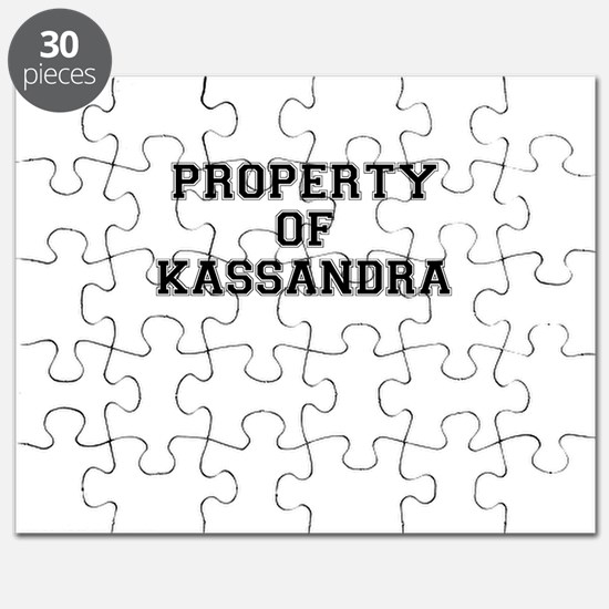 Property of KASSANDRA Puzzle