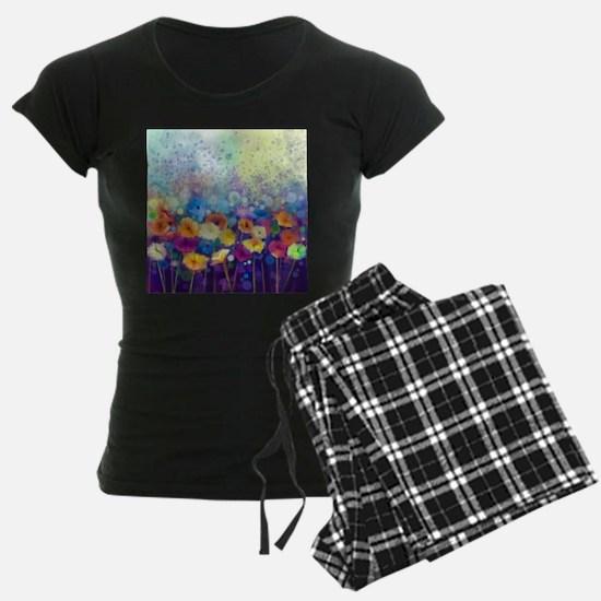 Floral Painting pajamas