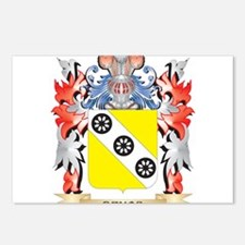 Devos Coat of Arms - Fami Postcards (Package of 8)