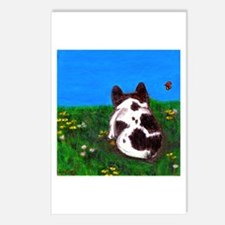 French Bulldog Painting Postcards (Package of 8)