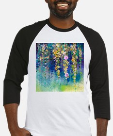 Floral Painting Baseball Jersey