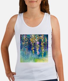 Floral Painting Women's Tank Top