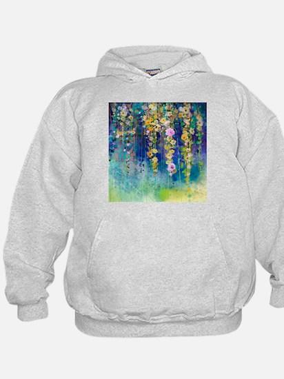 Floral Painting Hoodie