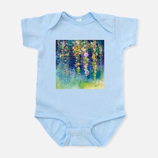 Floral Painting Infant Bodysuit