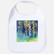 Floral Painting Bib