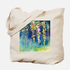 Floral Painting Tote Bag