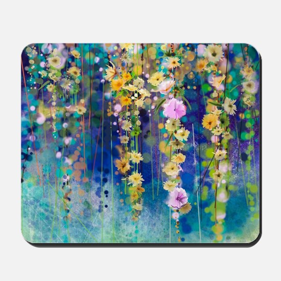 Floral Painting Mousepad