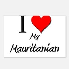 I Love My Mauritanian Postcards (Package of 8)