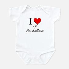 I Love My Marshallese Infant Bodysuit