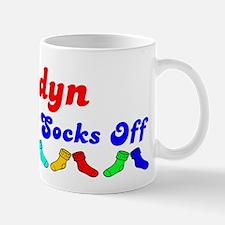 Jaidyn Rocks Socks (B) Mug