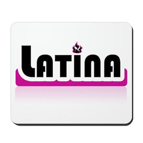 Latina Pink! Mousepad