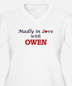 Madly in love with Owen Plus Size T-Shirt