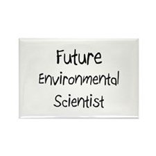 Future Environmental Psychologist Rectangle Magnet