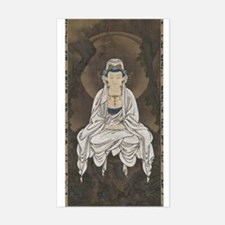 Kannon Scroll Rectangle Decal
