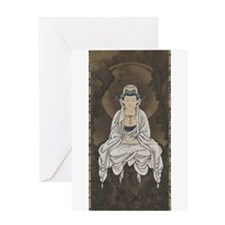 Kannon Scroll Greeting Card