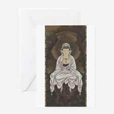 Kannon Scroll Greeting Card