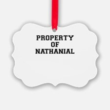 Property of NATHANIAL Ornament