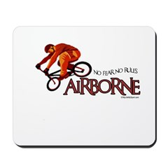 AIRBORNE-NO FEAR NO RULES Mousepad