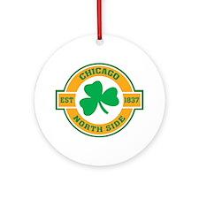 Chicago North Side Irish Ornament (Round)