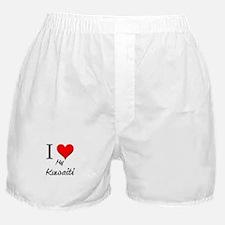 I Love My Kuwaiti Boxer Shorts