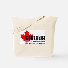 Canada & The American Dream Tote Bag