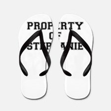 Property of STEPHANIE Flip Flops