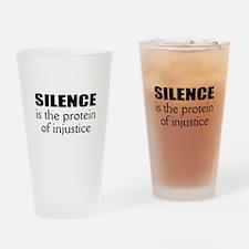 Activist Drinking Glass