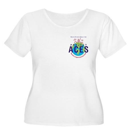 Project ACES Women's Plus Size Scoop Neck T-Shirt