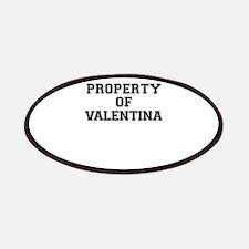Property of VALENTINA Patch
