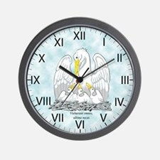 Order of the Pelican Wall Clock